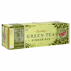 Canada Dry Ginger Ale Green Tea