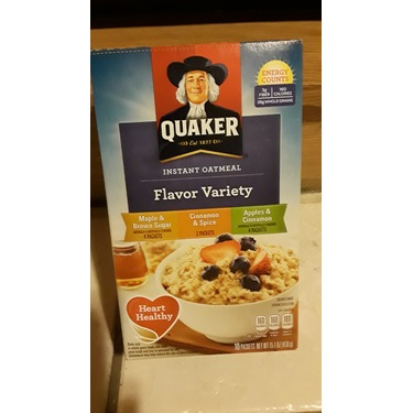 Quaker Instant Oatmeal Flavour Variety Assortment