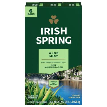 Irish Spring Aloe Soap Bar