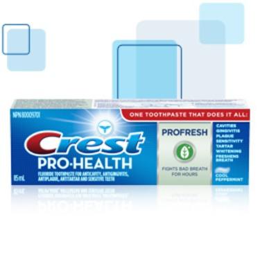 Crest Pro-Health ProFresh Toothpaste