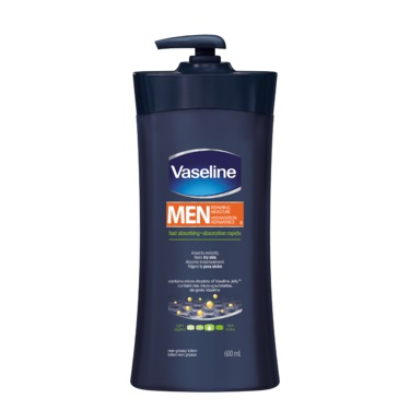 Vaseline Intensive Care Men Repairing Moisture Fast Absorbing Body & Face Lotion