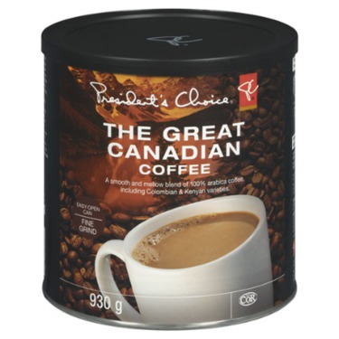 President's Choice Great Canadian Coffee