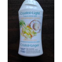 Crystal Light Liquid Drink Mix Aloha Pineapple Coconut