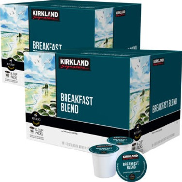 Kirkland Breakfast Blend K-cups
