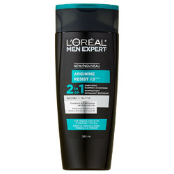 L'Oreal Men Expert Arginine Resist x3, 2-in-1 Reinforcing Shampoo and Conditioner