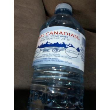 Real Canadian Natural Spring Water