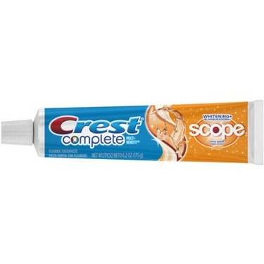 Crest Complete Whitening Plus Scope Toothpaste (Citrus Splash)