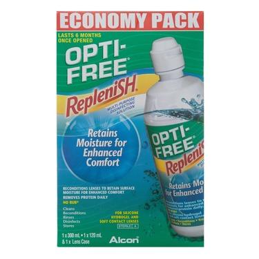Opti-Free Replenish Contact Lens Solution