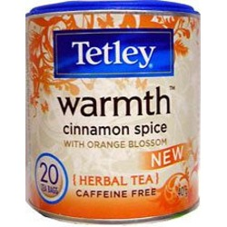 Tetley Warmth Cinnamon Spice with Orange Blossom Herbal Tea