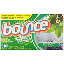Bounce Awakenings Renewing Rain Fabric Softener Sheets