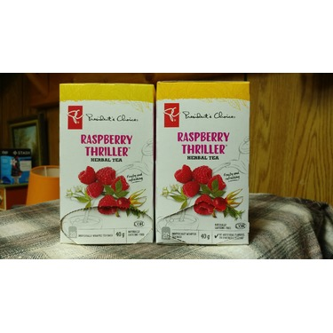 President's Choice Raspberry Thriller Herbal Tea