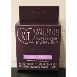 KIT Nail Polish Remover Pads