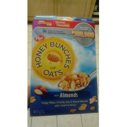 Post Honey Bunches Of Oats Almonds
