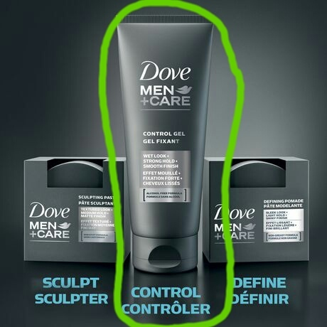 Dove Men Care Define Strong Hold Fortifying Styling Gel Reviews In Hair Styling Xy Stuff