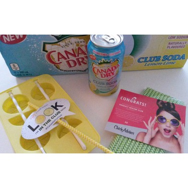 Canada Dry Club Soda Lemon-Lime