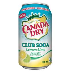 Canada Dry Club Soda Lemon-Lime