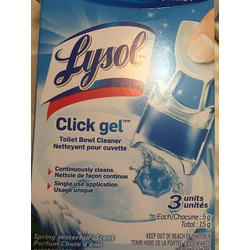 Lysol Click Gel Automatic Toilet Bowl Cleaner