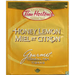 Tim Hortons Honey Lemon Tea