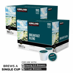 Kirkland K-cup coffee