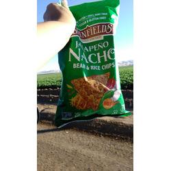 Beanfields Bean & Rice Chips - Nacho Flavour