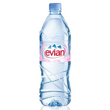 Evian water