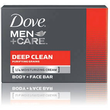 Dove Men +Care Deep Clean Purifying Grains Body & Face Bar