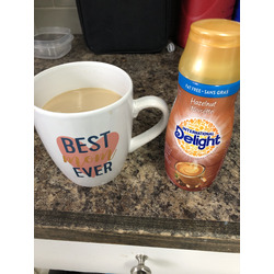 International Delight Fat Free Hazelnut Coffee Creamer