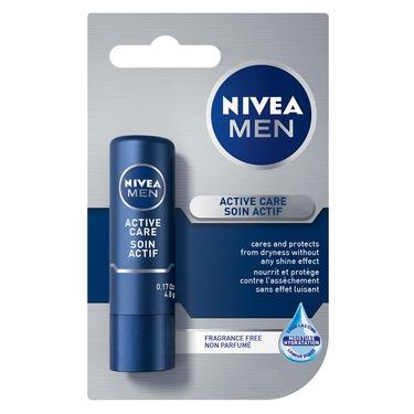 NIVEA Men Active Care Lip Balm