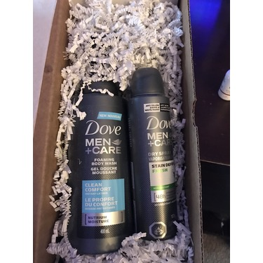 Dove Men+Care Clean Comfort Dry Spray Antiperspirant