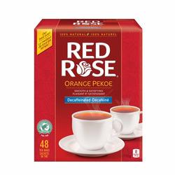 Red Rose Orange Pekoe Decaffeinated Tea Bags