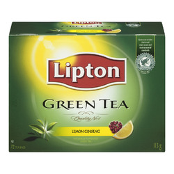 Lipton Green Tea Lemon Ginseng Tea Bags