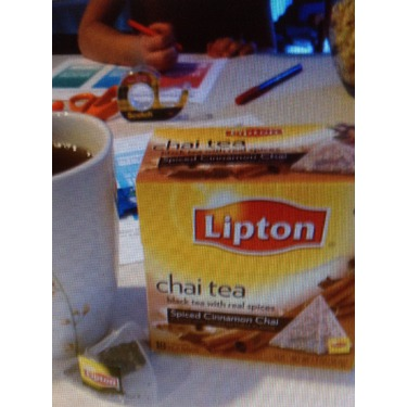 Lipton Chai Tea Cinnamon and Spices Pyramid Tea Bags
