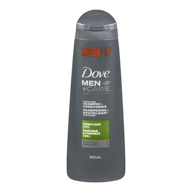 Dove Men +Care  Fresh Clean Shampoo + Conditioner
