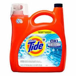 Tide advanced power laundry detergent