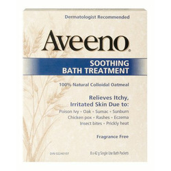 Aveeno Soothing Bath Treatment Fragrance Free