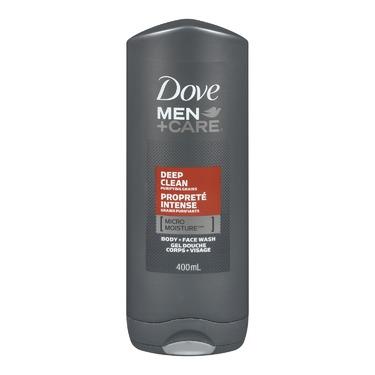 Dove Men +Care Deep Clean Micro Moisture Body + Face Wash