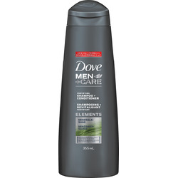 Dove Men +Care Elements Minerals+Sage 2-in-1 Shampoo