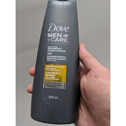 Dove Men +Care Sensitive Scalp Shampoo & Conditioner