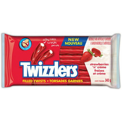 Twizzlers Strawberries n' Crème Liquorice