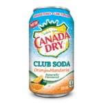 Canada Dry Club Soda Orange-Mandarin