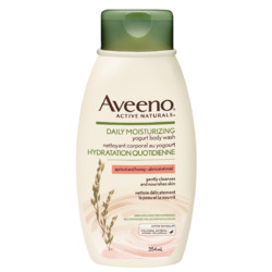 Aveeno Daily Moisturizing Yogurt Body Wash, Apricot and Honey