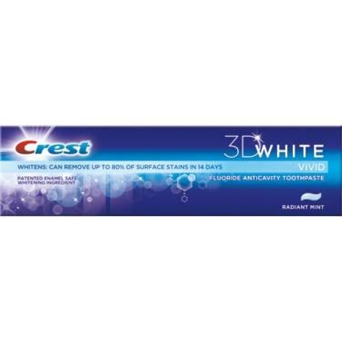 Crest 3D White Advanced Vivid Toothpaste