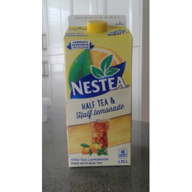 Nestea lemon iced tea half ice tea and half lemonade
