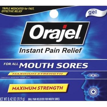 Orajel maximum strength