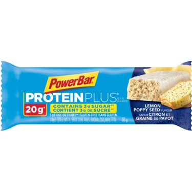 PowerBar ProteinPlus Reduced Sugar Lemon Poppy Seed