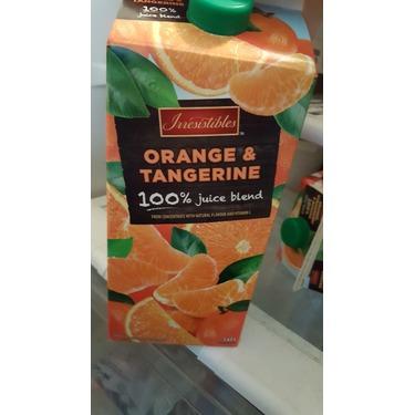 Irresistibles Orange & Tangerine Juice Blend