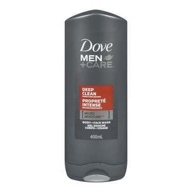 Dove Men + Care Clean Comfort Micro Moisture Body + Facewash