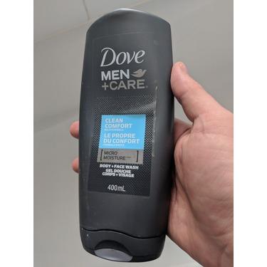 Dove Men + Care Clean Comfort Micro Moisture Body + Facewash