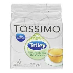 Tassimo Tetley Pure Green Tea - 14 T Discs