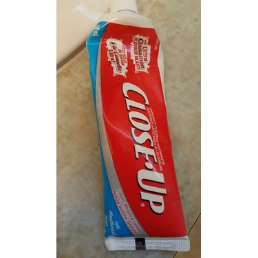 Toothpaste Close Up
